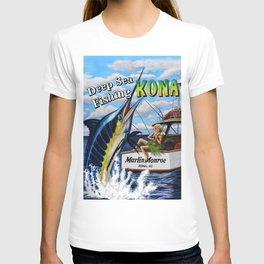 Deep Sea Fishing Kona T-shirt