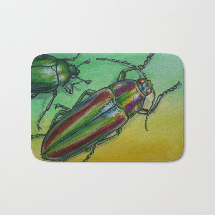 Shinny Beetle Bath Mat