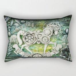 Mechanical Horse I Rectangular Pillow