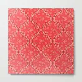 Morocco Pink Metal Print