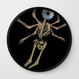 GEAR HEAD SKELETON Wall Clock