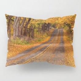 Fall Rural Country Road Pillow Sham