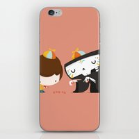 game iPhone & iPod Skins featuring Game by Alfonso Cervantes