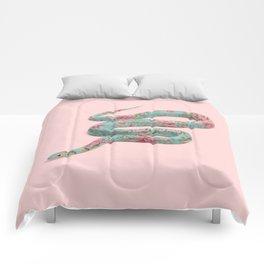 FLORAL SNAKE Comforters