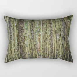 Much Moss Rectangular Pillow