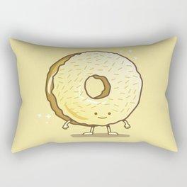 The Golden Donut Rectangular Pillow