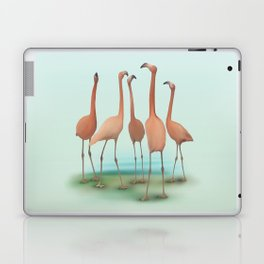 Flamingo Mingle Laptop & iPad Skin