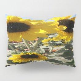 Sunflowers & Pumpkins Pillow Sham