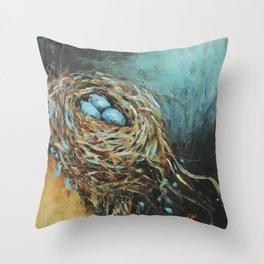 Nest #3 Throw Pillow