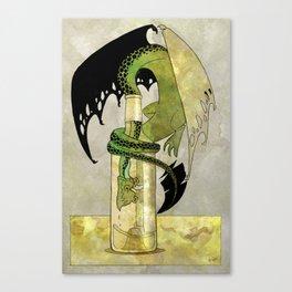 The Drunken Dragon II Canvas Print