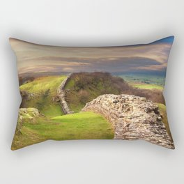 Hadrian's Wall Rectangular Pillow