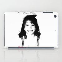 britney spears iPad Cases featuring Britney Spears Baby Legend by franziskooo