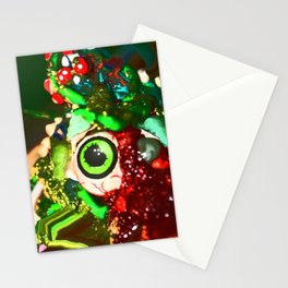 Bad Looking Monsters from Outter Space Stationery Cards