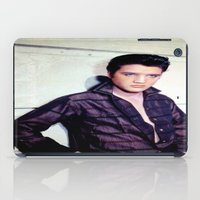 elvis presley iPad Cases featuring Elvis Presley by Neon Monsters
