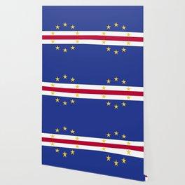 Cape Verde flag emblem Wallpaper