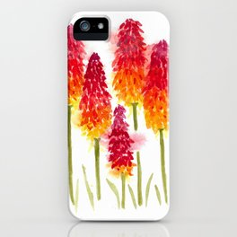 Torch Lillies iPhone Case