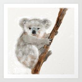 Katie Koala Art Print