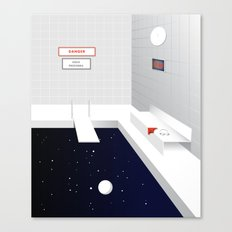 Bain de minuit Canvas Print