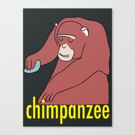 Chimpanzee Canvas Print