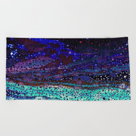 Blues Beach Towel