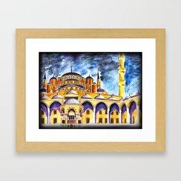 Sultanahmet Mosque Framed Art Print