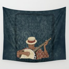 Banjo Wall Tapestry