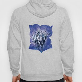 Thistle and Weeds_deep purple Hoody