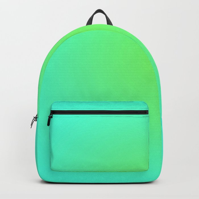 Green Blue Backpack