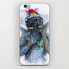 WILDER iPhone Skin