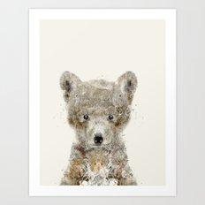 little wolf Art Print