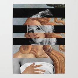 Botticelli's Venus & Brigitte Bardot Poster