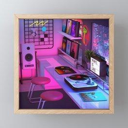Vinyl is Life Framed Mini Art Print