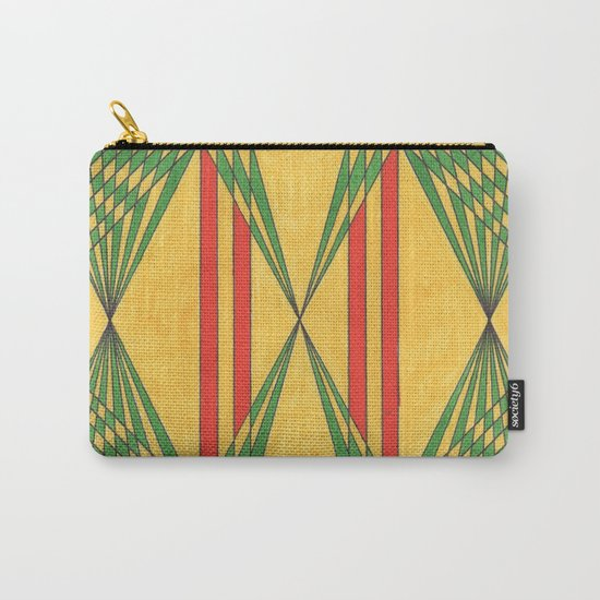 yellow brick Carry-All Pouch