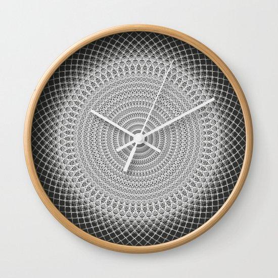 Tangents 2 Wall Clock