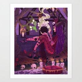 Dark Witch Art Print