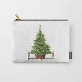 Christmas In The Country Carry-All Pouch