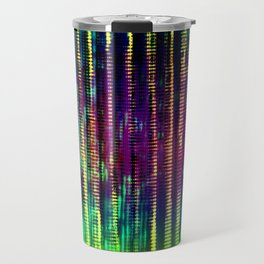 Syntax (Yellow + Green) Travel Mug