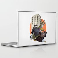 nicolas cage Laptop & iPad Skins featuring Cage home by Lerson