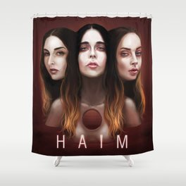 haim life Shower Curtain