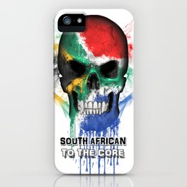 To The Core Collection: South Africa iPhone Case