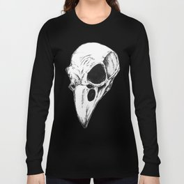 Raven skull Long Sleeve T-shirt