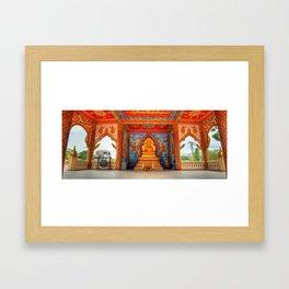 Golden Temple Laos Framed Art Print