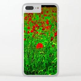 BELLES DES CHAMPS S Clear iPhone Case