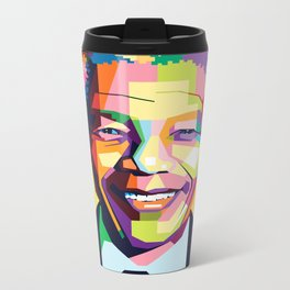 Nelson Mandela | Rainbow Nation Metal Travel Mug
