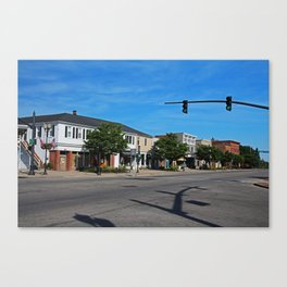 A Street in Perrysburg IV Canvas Print