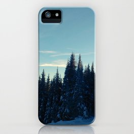 Coquihalla sunset iPhone Case