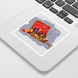 Magic Suitcase Sticker