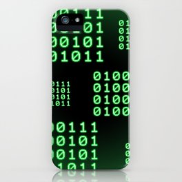 Binary code for GEEK iPhone Case