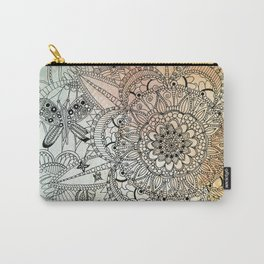 Butterfly Mandala Carry-All Pouch