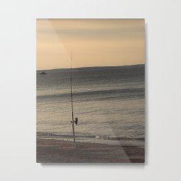 Fishing Pole Metal Print